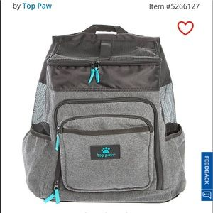 PRICE DROP Top Paw® Pet Backpack Carrier